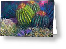 Desert Garden Greeting Card