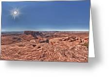 Desert Heat Greeting Card