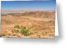 Desert Highway Greeting Card