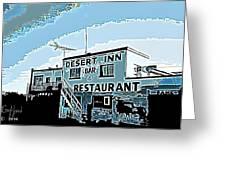 Desert Inn Greeting Card