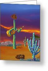 Desert Jam Greeting Card