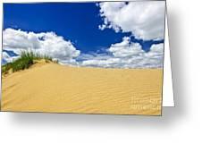 Desert Landscape In Manitoba Greeting Card