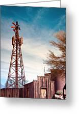 Desert Lighthouse Greeting Card