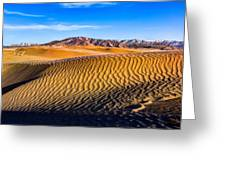 Desert Lines Greeting Card by Chad Dutson