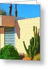 Desert Modern 7 Lakes Palm Springs Greeting Card
