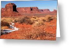 Desert Monuments Greeting Card