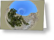 Desert Orb  Greeting Card