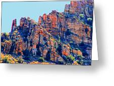 Desert Paint Greeting Card