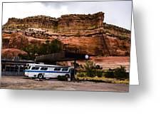 Desert Pit Stop Greeting Card