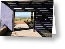 Desert Portal Greeting Card