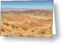 Desert Ribbon Greeting Card