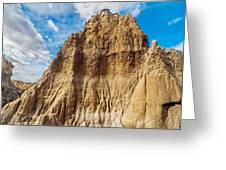 Desert Rock Formation Greeting Card