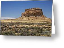 Desert Rock Formation Greeting Card