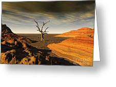 Desert Scene 2 Greeting Card