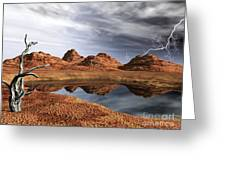Desert Storm Greeting Card