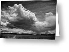 Desert Thunderstorm Greeting Card