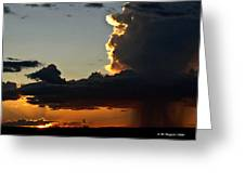 Desert Thunderstorm - Marfa Texas Greeting Card