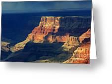 Desert View Grand Canyon 2 Greeting Card