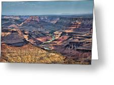 Desert View Greeting Card