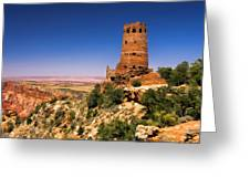 Desert View Watchtower Greeting Card