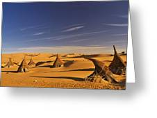 Desert Village Greeting Card
