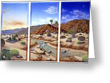Desert Vista Large Greeting Card