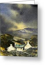 Deserted Farm West Cork Greeting Card by Roland Byrne