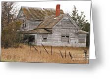 Deserted House Greeting Card