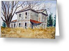 Deserted House  Greeting Card