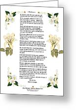 Desiderata With Art Greeting Card