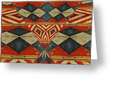 Design 1 -native Inspired Greeting Card by Jeff Burgess
