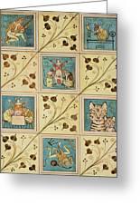 Design For Nursery Wallpaper Greeting Card