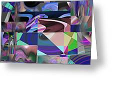 Design Square 33 Greeting Card