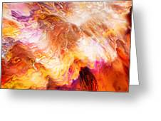 Desire - Abstract Art Greeting Card by Jaison Cianelli