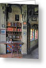 Desk At The Castle Greeting Card