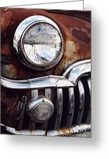 Desoto Headlight Greeting Card