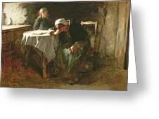 Despair, 1881 Greeting Card