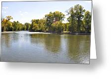 Desplaines River Greeting Card