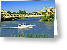 Destination Sacramento Greeting Card