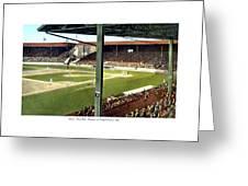 Detroit - Navin Field - Detroit Tigers - Michigan And Trumbull Avenues - 1914 Greeting Card