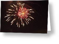 Detroit Area Fireworks -1 Greeting Card