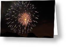 Detroit Area Fireworks -10 Greeting Card