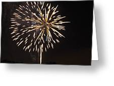 Detroit Area Fireworks -4 Greeting Card