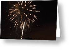 Detroit Area Fireworks -6 Greeting Card