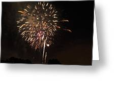 Detroit Area Fireworks -7 Greeting Card