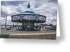 Detroit Carousel  Greeting Card