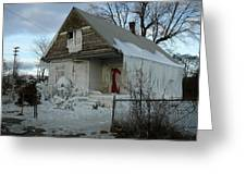 Detroit Ice House Greeting Card