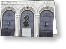 Detroit Institute Of Art Greeting Card