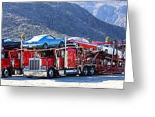 Iron Road Palm Springs Greeting Card