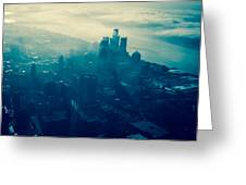 Detroit Morning Greeting Card